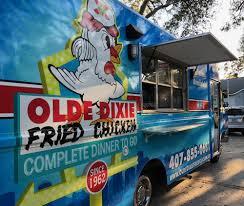 100 Food Trucks In Orlando Olde Dixie Fried Chicken