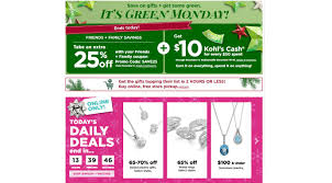 Kohl's Green Monday Deals 12/9: Jewelry, Watches, PJ's For ... 25 Off Staples Coupon Codes Black Friday Deals Coupon Take 20 Off Online Orders Of 75 Clark Stateline Jeep Coupons Ubereats 50 Promo Code Chennai Hit E Cigs Racing The Planet Discount Coupons Code Promo Up To Dec19 Wayfair 10 First Time Order Expires 113019 Staples Coupon 15 Liphone Order Expires 497 1 Mimeqiv3559562497chtm Definitive Materials Hp Instant Ink Ncours Natrel