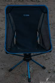 Big Agnes Helinox Chair One Camp Chair by Camping In Comfort With The Big Agnes Helinox Swivel Chair