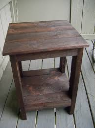 A Coffee Table With Pallets Wood Pallet Furniture Ideas Rustic Plans Amazing End Tables Made Out