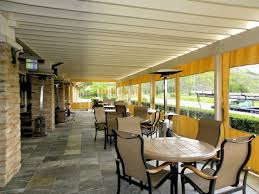 Roll Up Patio Shades by Outdoor Curtains Drapes And Shades Superior Awning