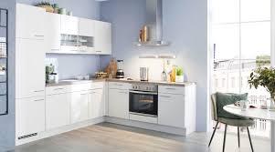 hell und freundliche l küche speed nobilia in weiß grau