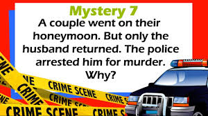 Halloween Riddles For Adults With Answers by 10 Popular Crime And Murder Mystery Riddles To Bring Out Your