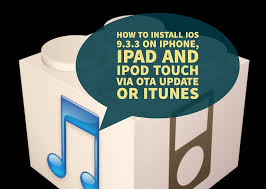 How to install iOS 9 3 3 on iPhone iPad and iPod touch via OTA