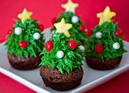 Christmas Tree Cupcakes In Decoration Stuff For And Muffins