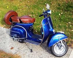 Vintage Vespa Sprint Blue Deep