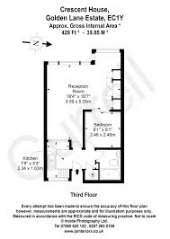 100 Crescent House 1 Bed Flat For Sale In Clerkenwell EC1Y Currell London