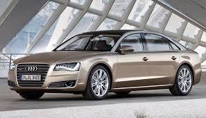 Top car ratings 2010 Audi A8 L W12 quattro