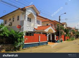 100 Modern Townhouses City Thailand Stock Photo Edit Now 125601431