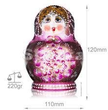 100 Matryoshka Kitchen Russian North Pattern Doll 10 Inside SkazkaSite