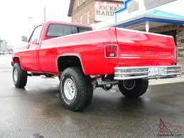 Frame Off Custom 4X4 Chevy Cheyenne Red Truck Best Of Everything