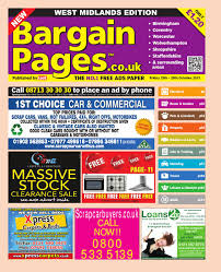 Bargain Pages Midlands 25th October 2013 by Loot issuu