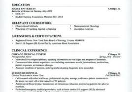 Registered Nurse Resume Sample From Entry Level Graduate Examples
