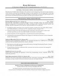 Hotel Front Desk Resume Sample Best Resumes