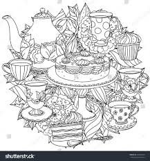 Anti Stress Coloring Book Name Cafe Libro Colorear Adulto Similar With Secret Garden 712x606