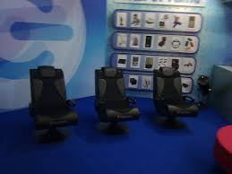 X Rocker Vibrating Gaming Chair by X Rocker Vision 2 1 Gaming Chairs Thedoghouse The Gadget Show