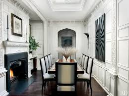 London Dining Room With Jacobean Style Paneling