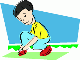 Boy Putting On Shoes Clipart Image Pictures