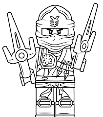 Adultoring Lego Ninjago Pagese Zx Page Free Printable Zane Outstanding Coloring Pages Cole Kids 1600