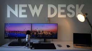 Ikea Linnmon Corner Desk Hack by Ikea Linnmon Setup Review Dream Setup 1 Youtube