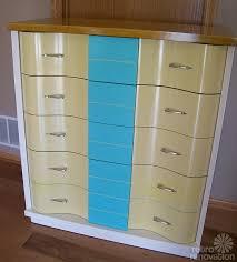 Kent Coffey Blonde Dresser by Jeff And Debbie U0027s U0027trash To Treasure U0027 Blonde Vintage Furniture