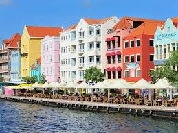 The Colorful Architecture Of Caribbean Is A Result Spanish French British