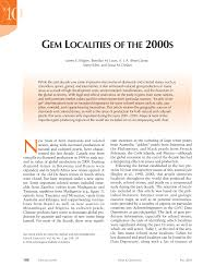 PDF Gem Localities Of The 1990s