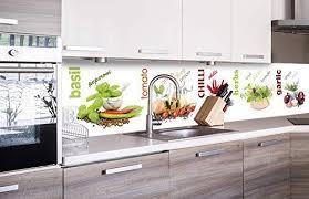 dimex line küchenrückwand folie selbstklebend gewürz klebefolie dekofolie spritzschutz für küche premium qualität made in eu 260 cm x 60