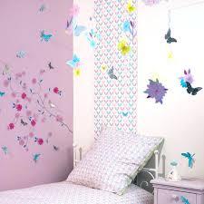 decoration chambre fille papillon deco papillon chambre chambre fille papillon fleur djeco picslovin