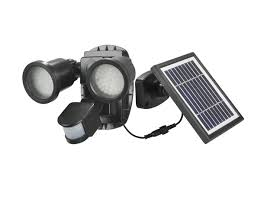 spot solaire puissant 600 lumens détecteur de mouvements