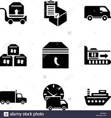 100 Fugu Truck Set Of 9 Simple Editable Icons Such As Sea Ship Logistics