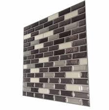 3d gel mosaic effect self adhesive splashback tile sticky wall