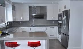 comptoir de cuisine quartz blanc awesome cuisine quartz gris gallery design trends 2017
