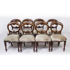 Antique Set 8 Victorian Balloon Back Mahogany Dining Chairs ... Antique Victorian Ref No 03505 Regent Antiques Set Of Ten Mahogany Balloon Back Ding Chairs 6 Walnut Eight 62 Style Ebay Finely Carved Quality Four C1845 Reproduction Balloon Back Ding Chairs Fiddleback Style Table And In Traditional Living Living Room Upholstery 8 Upholstered Lloonback Antique French