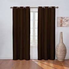 Eclipse Thermapanel Room Darkening Curtain by Eclipse Curtains U0026 Drapes Window Treatments The Home Depot