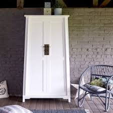 armoire en acajou blanc 180 yuki schlafzimmer schrank