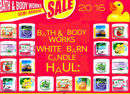 Bath & Body Works/White Barn: Semi Annual Sale ~75% Off Candle ... Basil Sage Mint The Candle Barn Company Bath Body Works White Co Miami Grand Opening Perth Western Australia Facebook And Old Piece Of Beaten Barn Board Some Rusty Wire And An Primitive Antique Style Handmade Wood Lantern W Amazoncom Milkhouse Creamery Butter Jar Candice Holder Vase Phantastic Phinds Coconut Snowflake 3wick Pottery Homescent Redesign Packaging