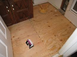 Preparing Wood Subfloor For Tile by Tile View How To Install Subfloor For Tile Luxury Home Design