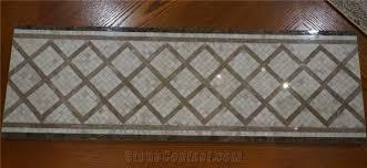 Marble Mosaic Pattern Decorative Floor Tile Flooring Border Designs