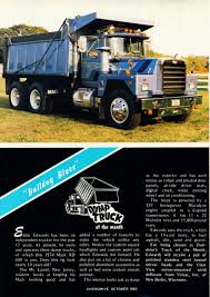 Photo: October 1983 Dump Truck Of The Month | 10 Overdrive Magazine ... Dump Truck 20 Cum Scoop End Isuzu Cyh Centro Manufacturing Funrise Toy Tonka Toughest Mighty Walmartcom Cat Dump Truck New Zealand Performance Tuning F650 Mod Farming Simulator 17 Kids Coloring Videos And Big Trucks Transporting Monster Street Video Wfoxtv Rescue Absolute Cstruction Coloring Pages Colors For Kids With Aug 22 Optimist Park Field Renovations Top Soil Going In After 30 Tons At A Time Trucks Pick Away Dan Rivers Coal Ash Atco Hauling
