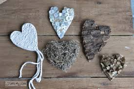 Rustic Hearts From Salvaged Junk For Valentines Day Or All Year Around