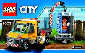 60073 LEGO Service Truck City Demolition - YouTube