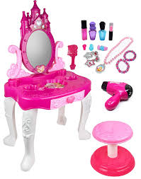 Amazon.com: Kiddie Play Pretend Play Kids Vanity Table And Chair ... Toys Hobbies Dolls 6 In 1 Highchair Swing White Doll Carrier Nappy Best Toy Food Learning Video With Baby Shimmers High Chair Shimmer The Stokke Or The Ikea Which Is Vintage Little Tikes Child Size Plastic Pink White Doll Highchair Membeli Kajian Iguana Online Portable Multipurpose Folding Safetots Wooden On Onbuy Disney Simple Fold Plus Minnie Dotty Walmartcom Babypoppen En Accsoires Cribhigh Accsories Role Pretend Chairs Booster Seats Find Great Feeding Deals Shopping At Play For Children Traditional Le Van Oxo Tot Sprout Taupebirch