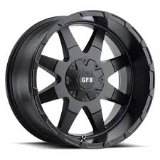 100 Discount Truck Wheels GFX TR12 MultiSpoke Painted Tire