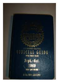 100 Blue Book On Trucks Kelley 1969 Sept Oct Official Guide Used