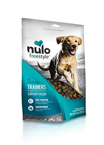 Nulo Freestyle Trainers Grain Free Salmon Dog Treats - 4 oz