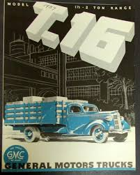 1937 1938 GMC Truck Model T16 One & Half Two Ton Range Original ...