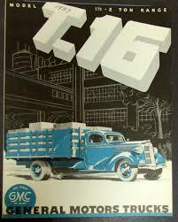 100 Two Ton Truck 1937 1938 GMC Model T16 One Half Range