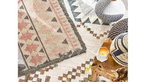 teppiche im boho style ethno muster in sanften farben westwing