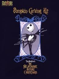 Nightmare Before Christmas Pumpkin Template by Pumpkin Site Pattern Collection